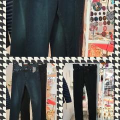 Jeans Homme noir, bleu, brut,.