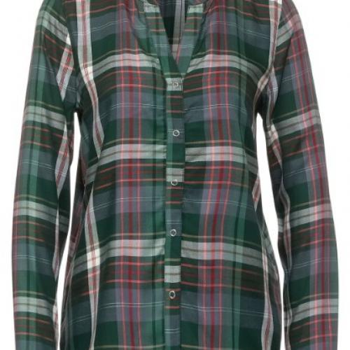 chemise a carreaux col fantisie tres tendance